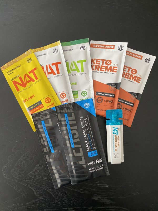 Prüvit KETO//OS® NAT™, MSCT, Unleashed Samples